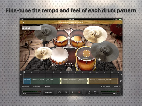 X Drummer: Songwriting Tool