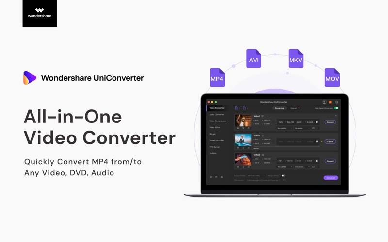 UniConverter- Video Converter Screenshots