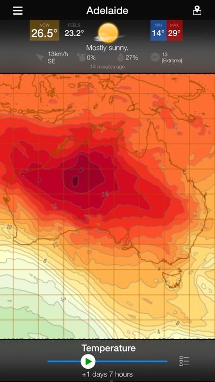 WeatherAlert: AUS Radar screenshot-5