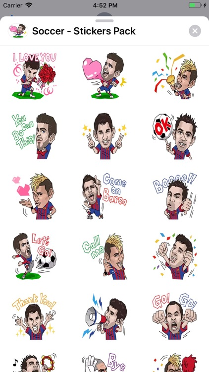 Soccer - Stickers Pack