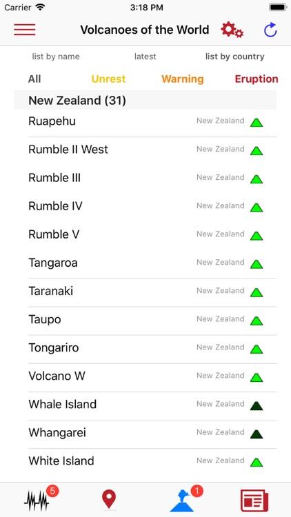 Volcanoes & Earthquakes screenshot-6