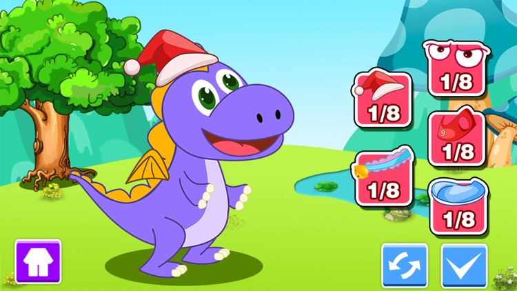 Bella's playtime with dinosaur screenshot-3