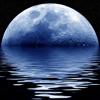Lunar reloj del calendario