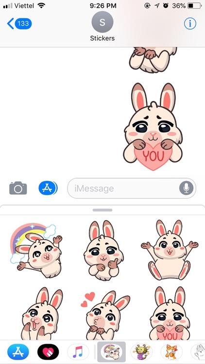 Rabbit Pun Funny Stickers