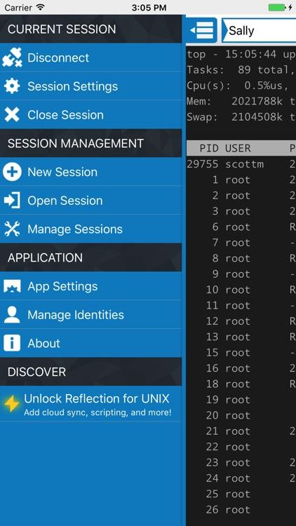 Reflection for UNIX SSH Client screenshot-4