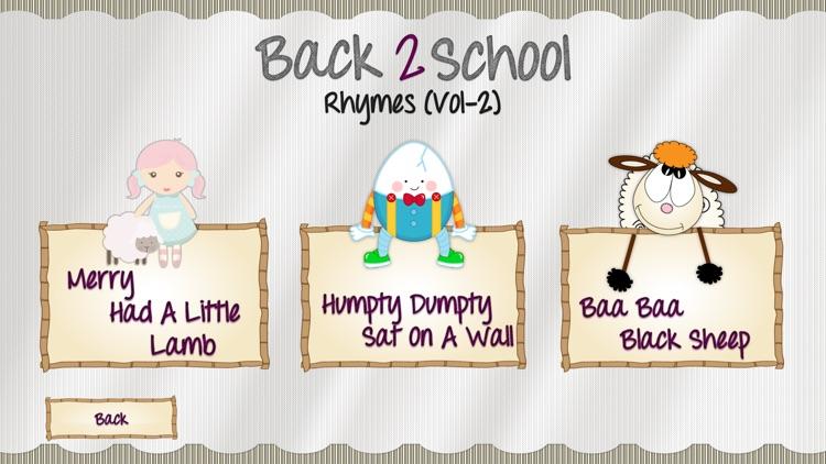 Back2School Rhymes Vol2 screenshot-4