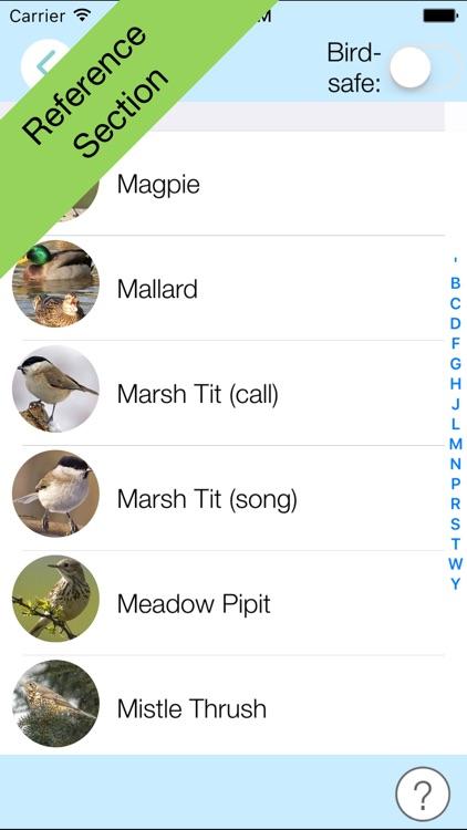 ChirpOMatic UK - Bird Song ID screenshot-3