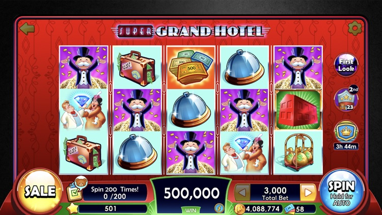 MONOPOLY Slots - Slot Machines screenshot-0