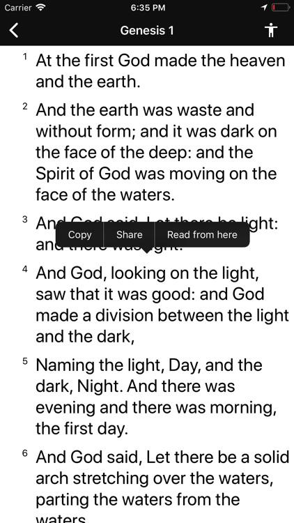 Bible Widget