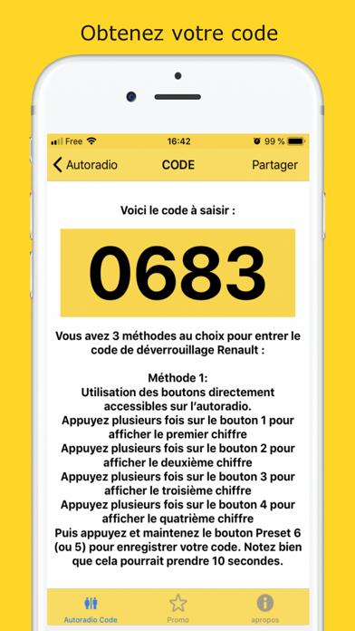Autoradio Code Déblocage