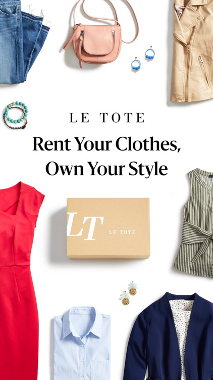 Le Tote - Fashion for Rent