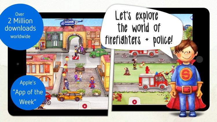 Tiny Firefighters - Kids' App screenshot-0
