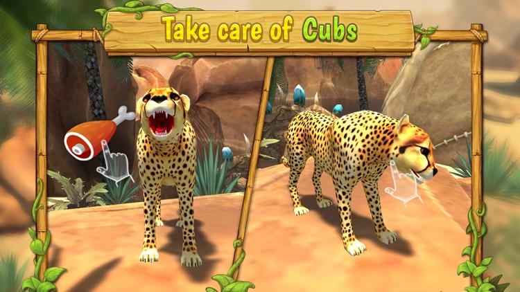 Cheetah Family Sim : Wild Cat screenshot-4