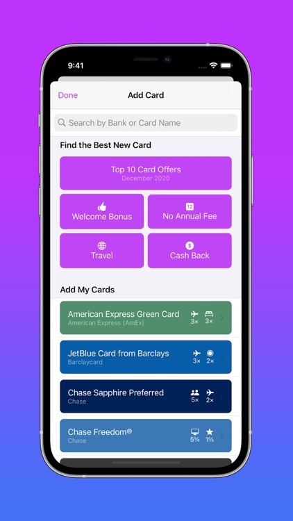 CardPointers for Credit Cards screenshot-7