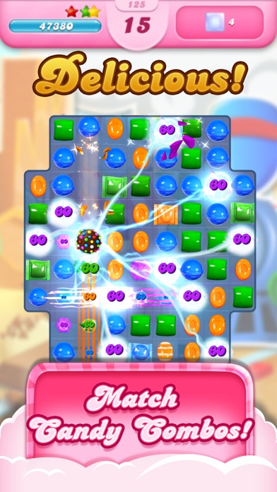 Candy Crush Saga screenshot one