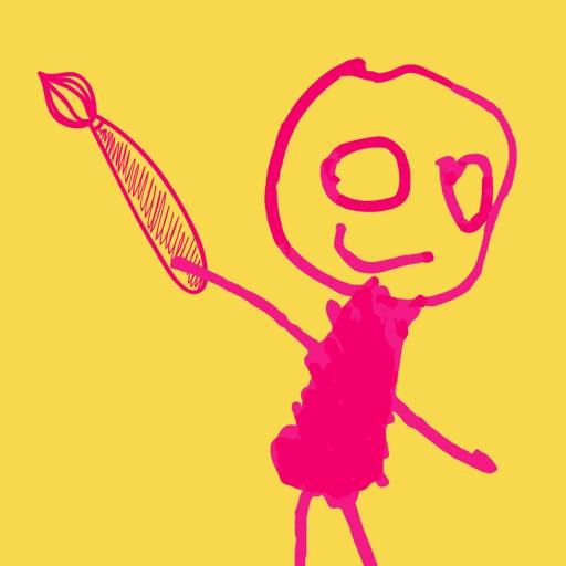 益智涂鸦涂色画画板(画画,涂色游戏)