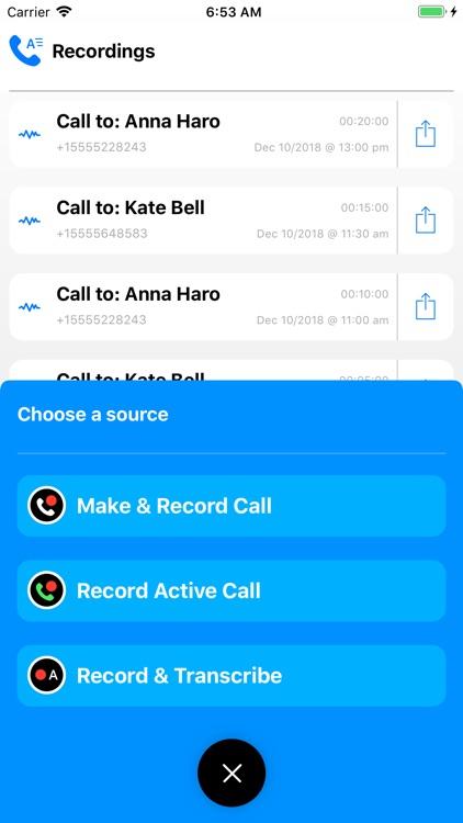 Call Recording by NoNotes screenshot-5