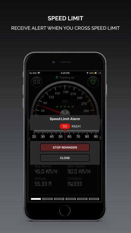 Smart GPS Speedometer PRO screenshot-2
