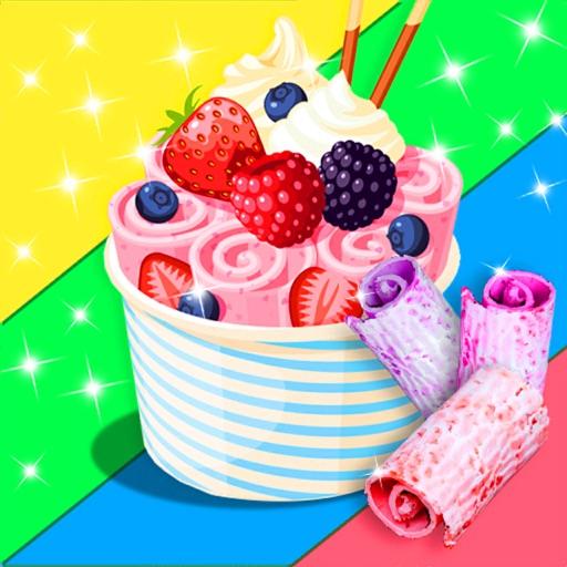 Ice Cream Rolls Fair Food