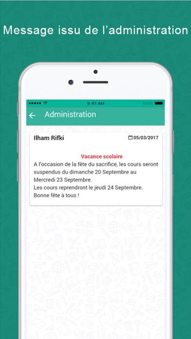 Screenshot for INSTITUTION Lamrani in Argentina App Store
