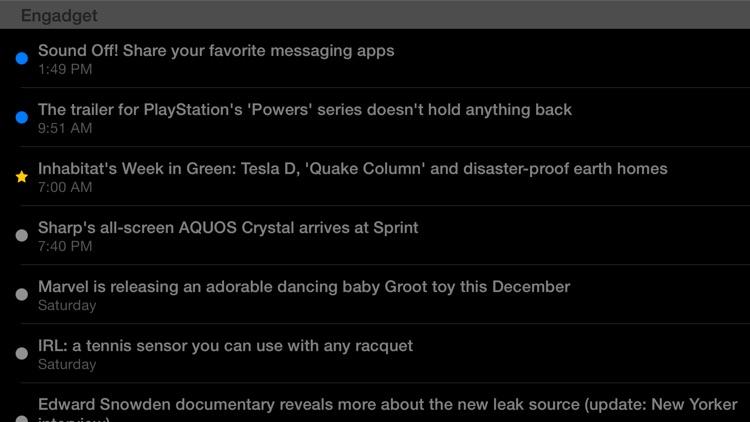 Feeddler RSS Reader Pro screenshot-3