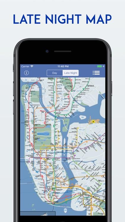 New York City MTA Subway Map screenshot-5