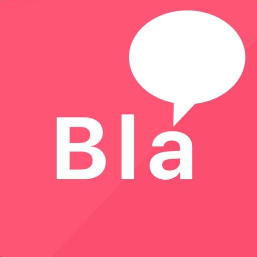 bla bla bla chat