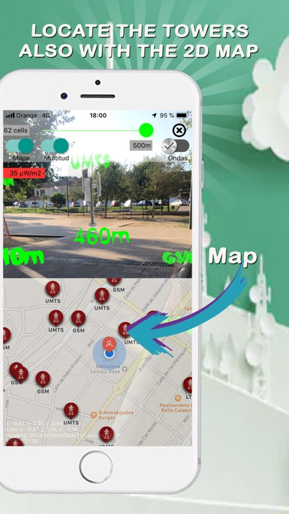 EMF Cell Towers Detector screenshot-6
