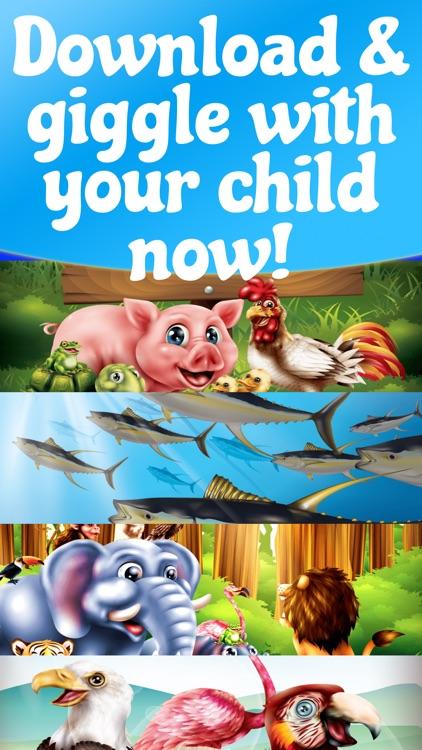 Animal Sounds for Babies ,Kids screenshot-5