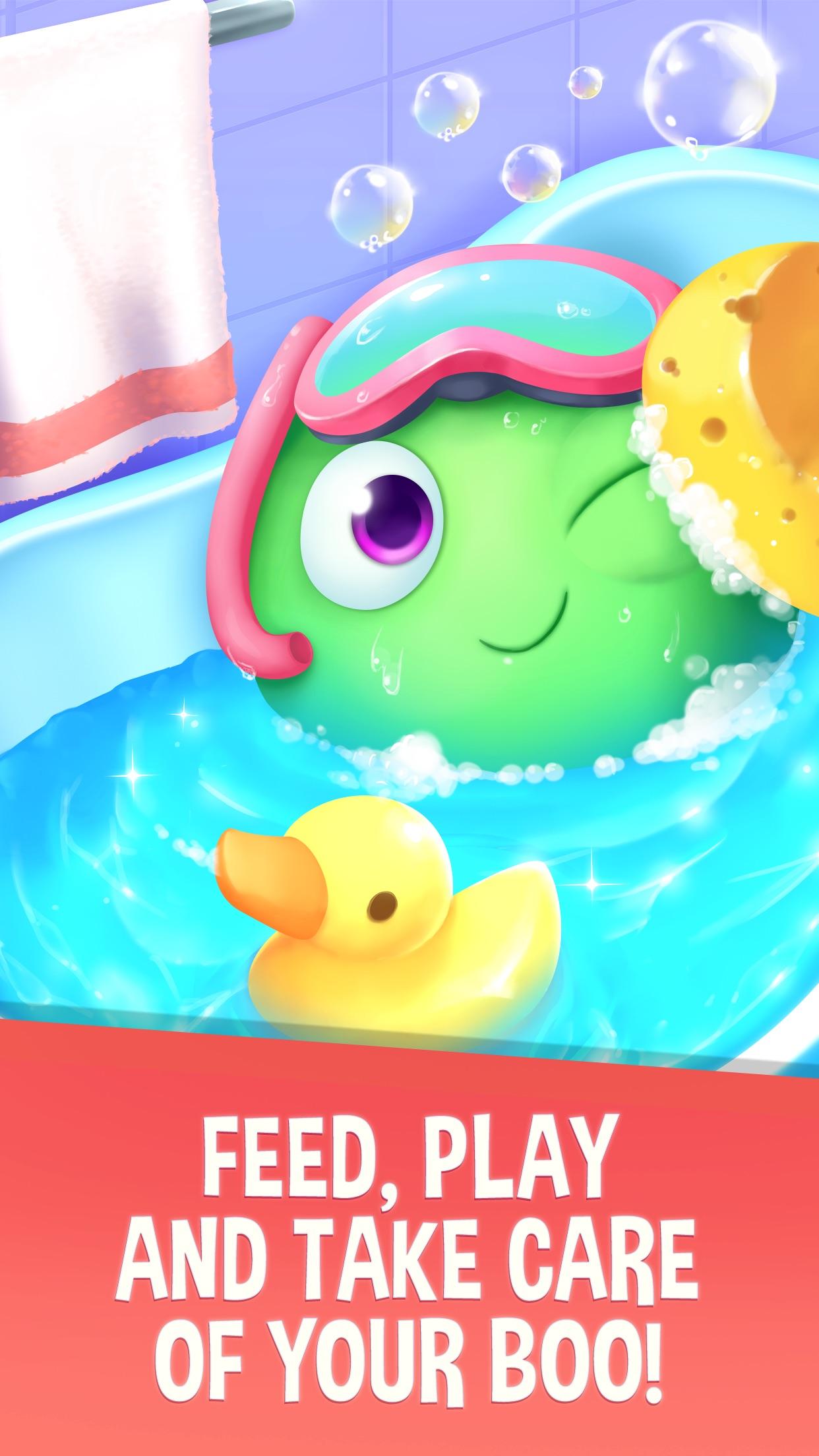 My Boo Virtual Pet & Mini Game Screenshot