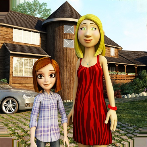 Virtual Happy Mom Family Life