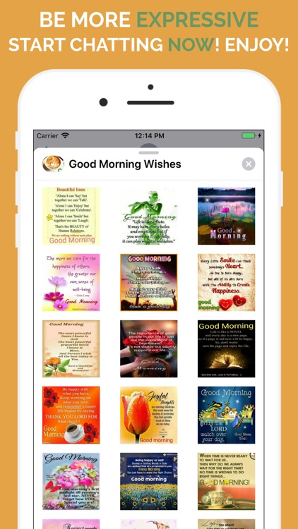 Good Morning Wishes Stickers screenshot-4
