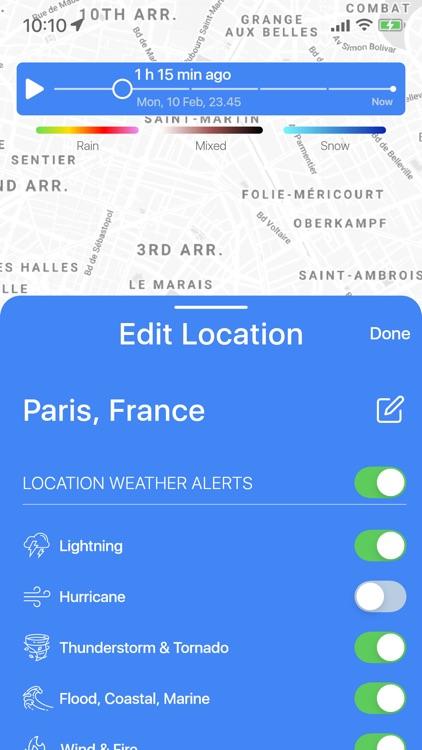 Weather Radar Live screenshot-6