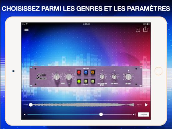 Screenshot #6 pour AudioMaster Pro: Mastering App