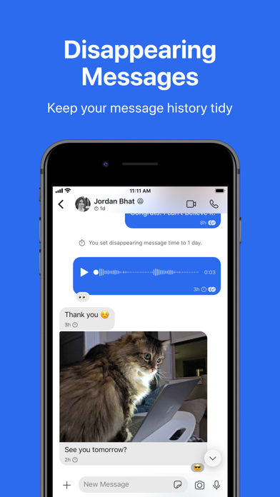 Screenshot of Signal - Private Messenger App