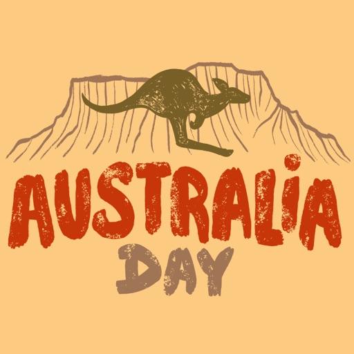 Australia Day Live Stickers