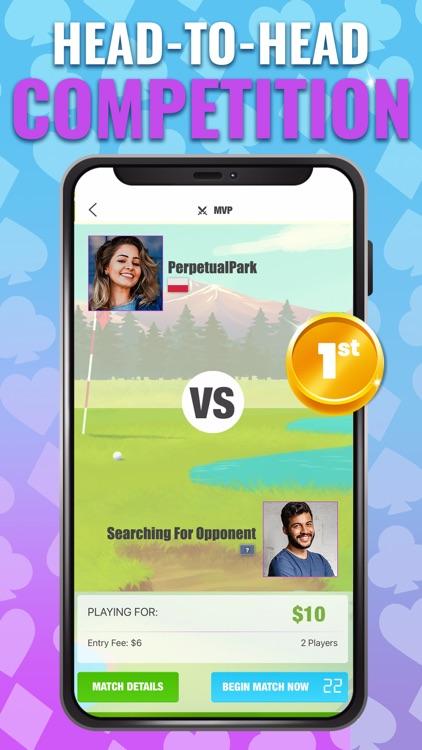 Golf Solitaire TriPeaks Cards! screenshot-4