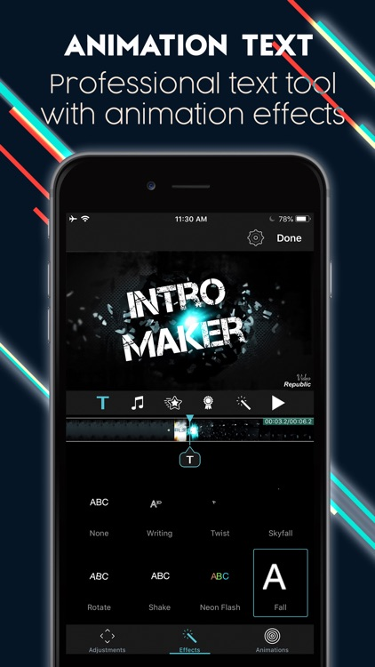 Intro Maker Effects Video Edit
