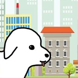 Dog run simulator game