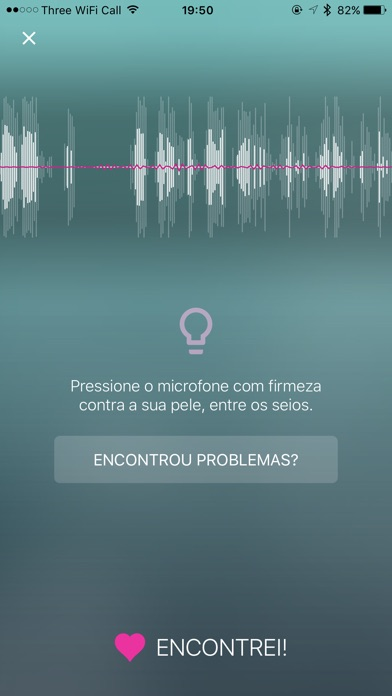Screenshot for Hear My Baby Monitor Cardiaco in Portugal App Store