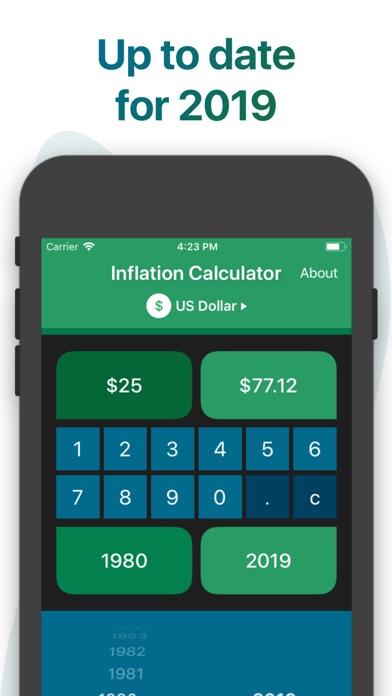 Screenshot #4 for Inflation Calculator
