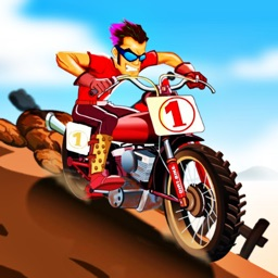 沙滩急速摩托车 - 竞技赛车游戏