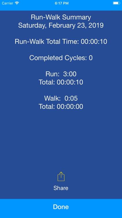 Run Walk Intervals screenshot-5