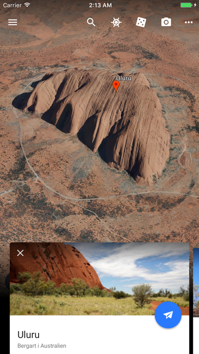 Google Earth på PC
