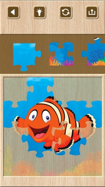 Animal Jigsaw Puzzle Games screenshot-4