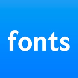 Fonts for iPhones .