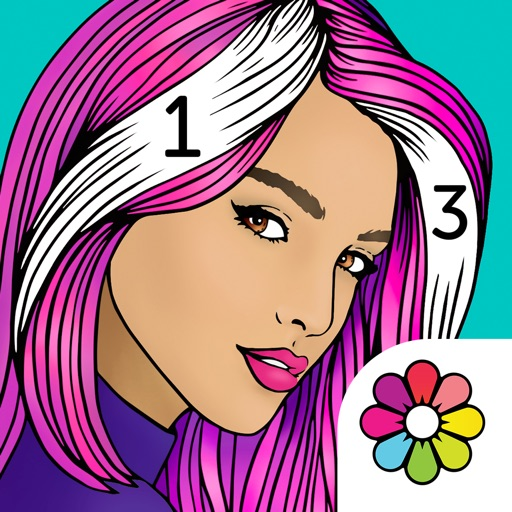 Recolor by Numbers icon
