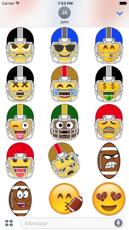Football Sticker Experience