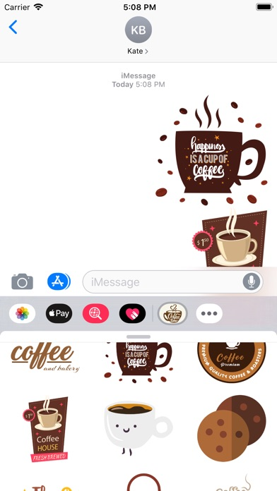 Hot Coffee Stickers image #1