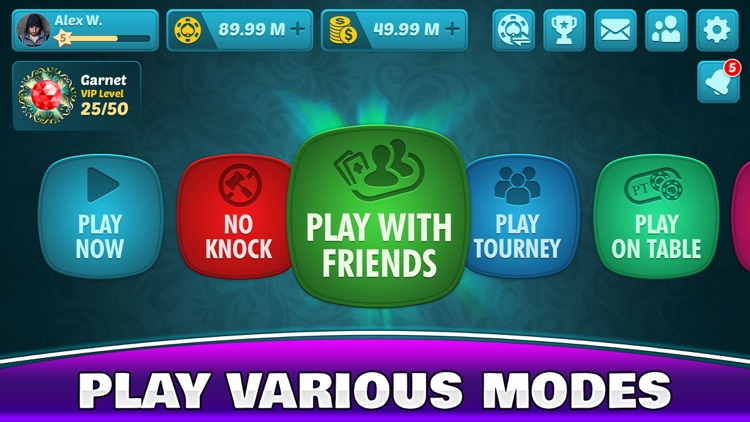 Tonk Online - Rummy Card Game! screenshot-4